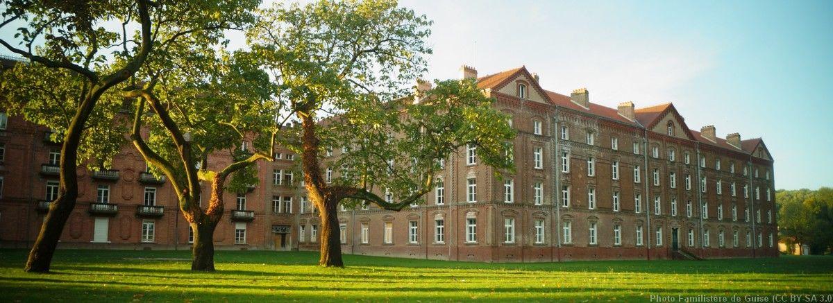 Le Pavillon Central du Familistère de Guise